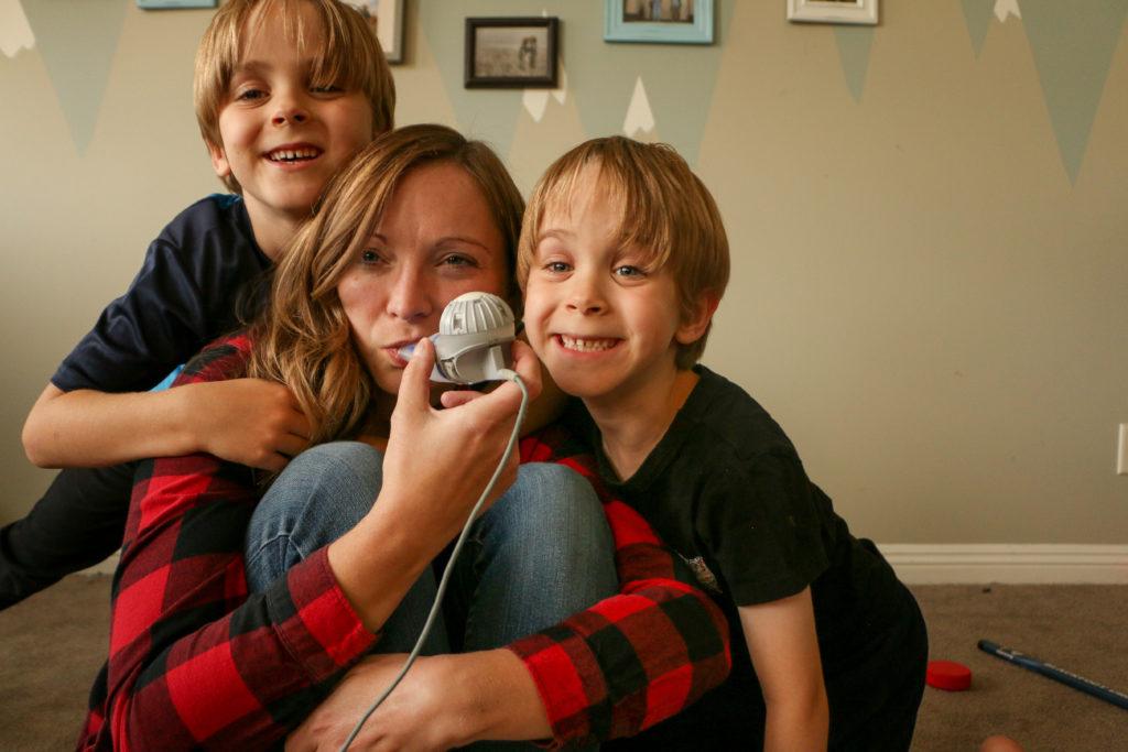 Megan, participante à la campagne de dons de fin d'année de Fibrose kystique Canada