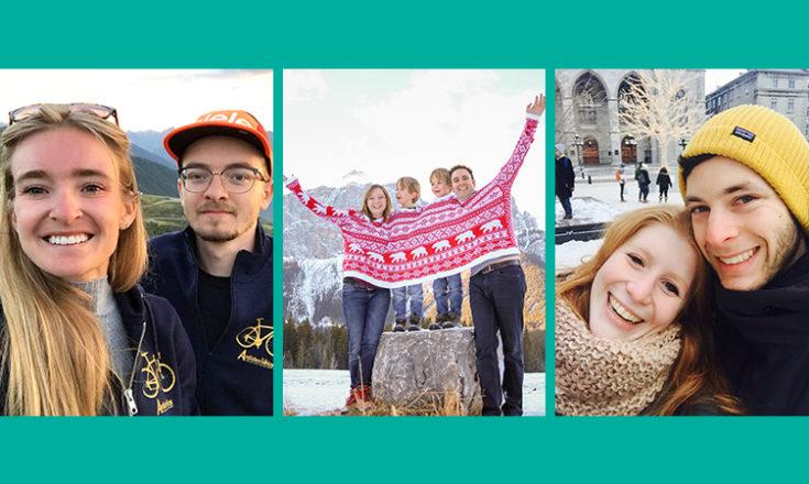 Trois moments favoris des participants à la campagne des fêtes de Fibrose kystique Canada